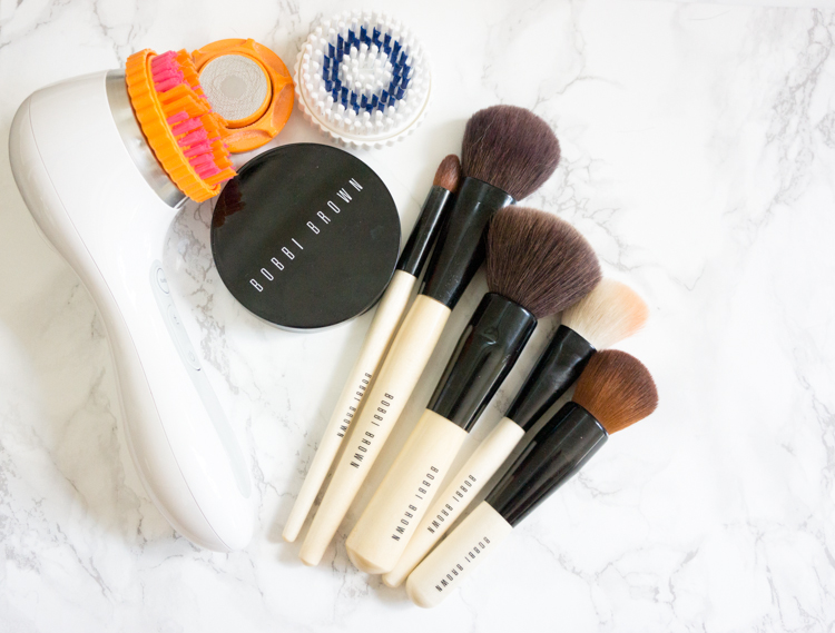 Ever wonder how to clean your makeup brushes? Here I explain why and HOW to clean your makeup brushes using Bobbi Brown Brush Cleanser. Pin now and save for practical how-to advice later!