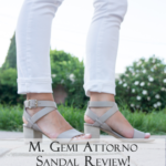 My SUMMER Splurge: M. Gemi Attorno Sandal Review