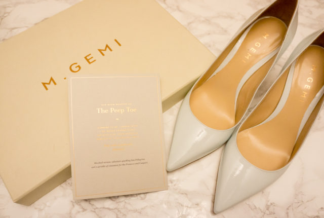 The BEST heels for work - M. Gemi Proprio and more. Heard of this Italian shoemaker but not sure if you want to take the splurge on these high-quality Italian craftsmanship shoes? Here I discuss M. Gemi Private Sale and teal and mint heels/pumps. Click to read more or pin and save for later!