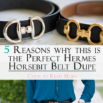 Perfect Hermes Horsebit Belt Dupe – Talbots Reversible Belt