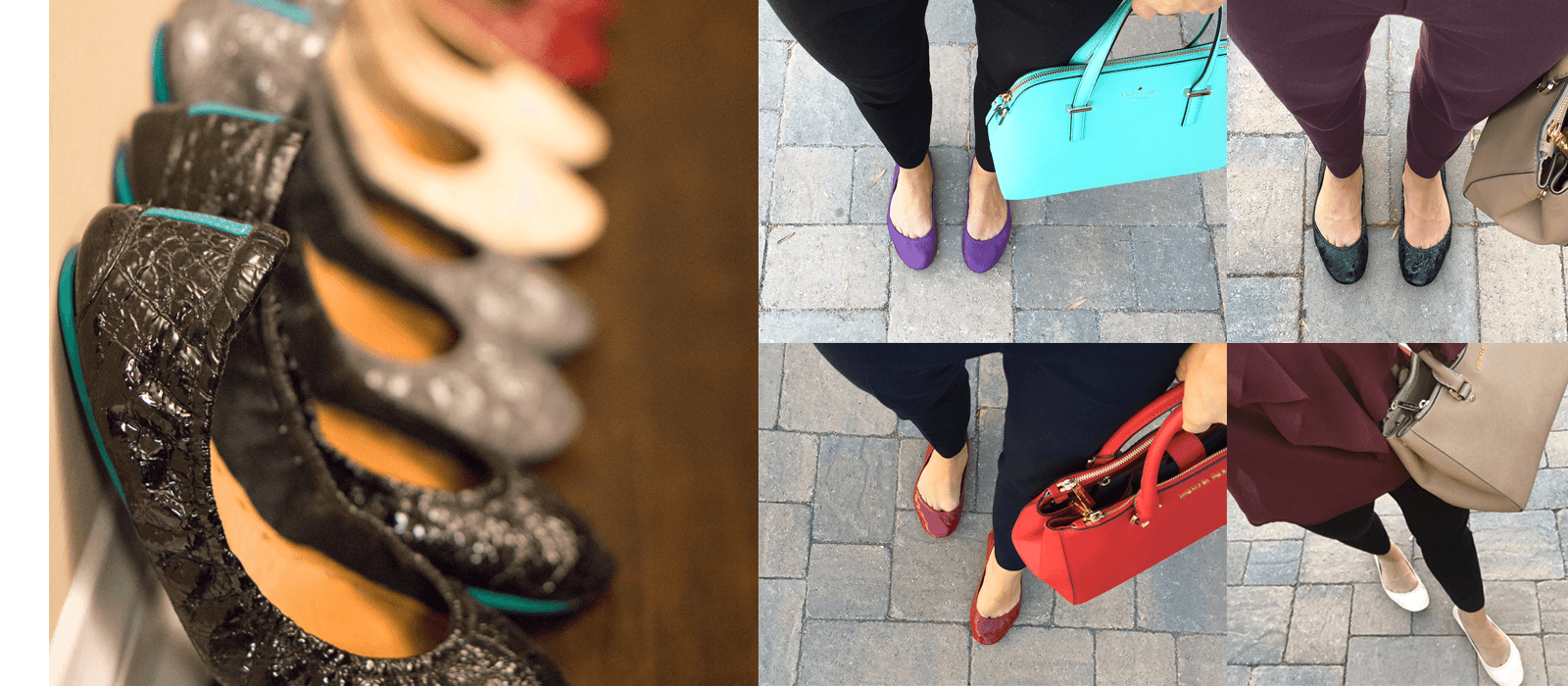 Tieks Ballet Flats Review | Honest Tieks Review | Ultimate Tieks Review | Are Tieks worth the price? | Are Tieks comfortable? | Do Tieks last? | Should I purchase patent or classic leather Tieks? | All your questions answered here. Best ballet flats for busy professionals. Click to read more!