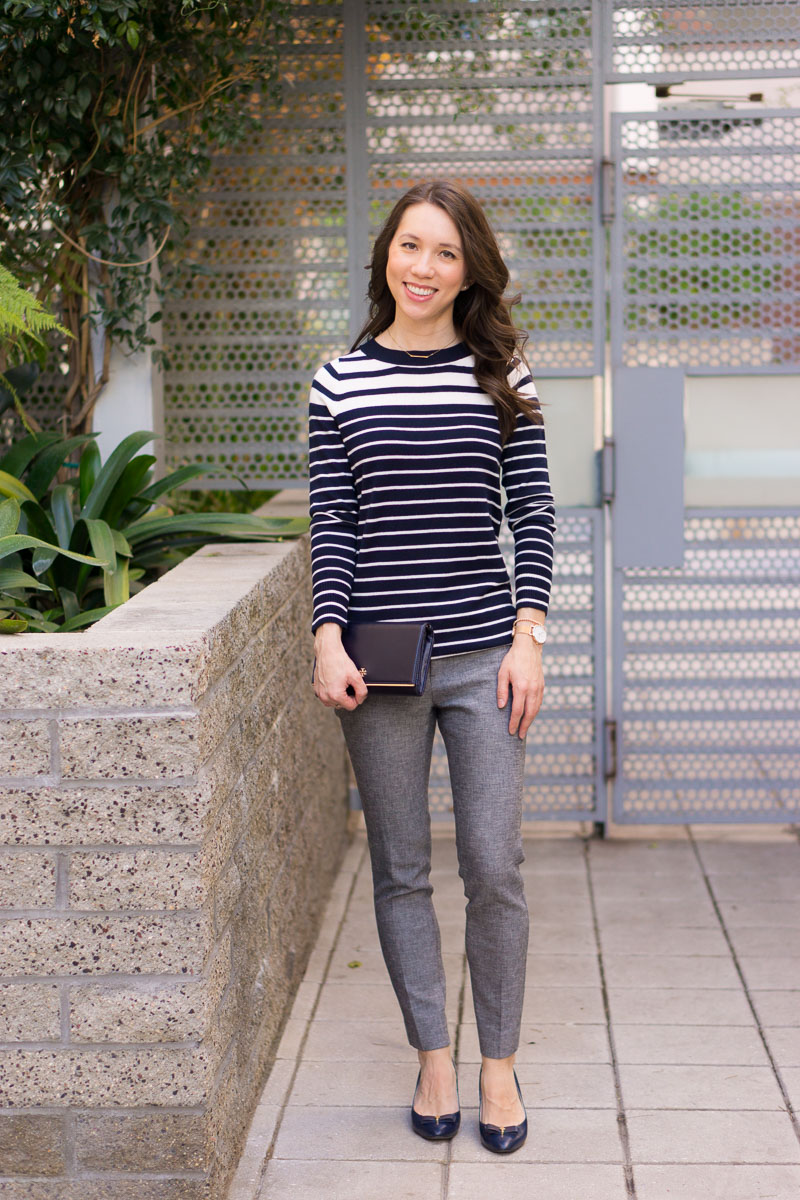 Pee Fashion Style How To Wear Navy Gray Together For Perfect Work