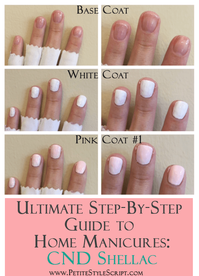 Ultimate Guide To At Home Manicure Cnd Shellac Nail Polish Gel