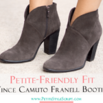 Petite Friendly Fit: Vince Camuto Franell Booties