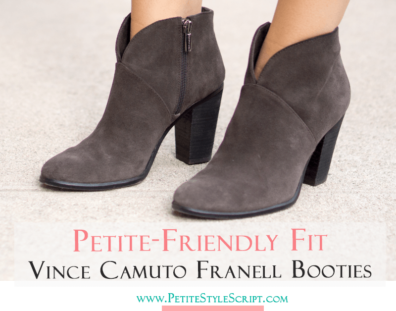 Pee Fashion Style Vince Camuto Franell Booties Review Short Ankle