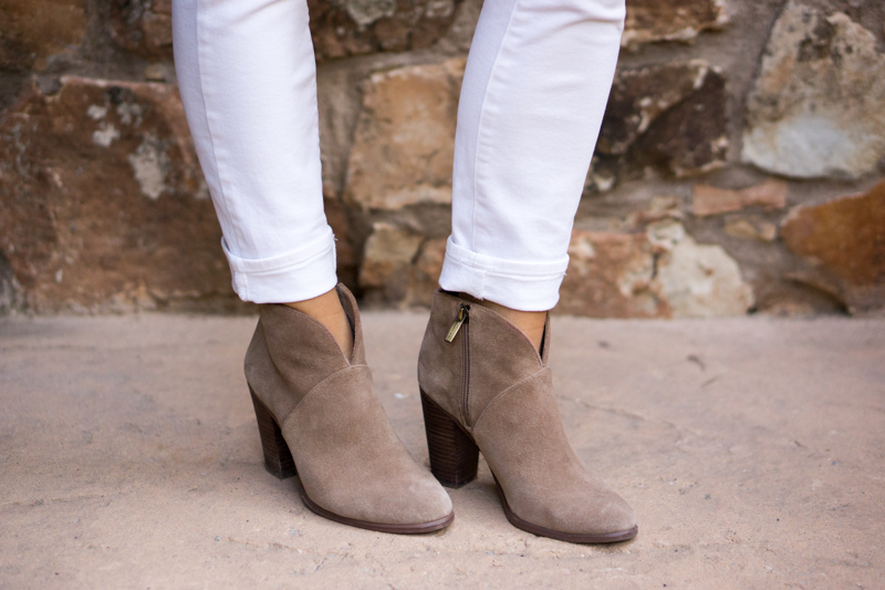 Vince Camuto Franell Booties Review Petite Friendly Fit
