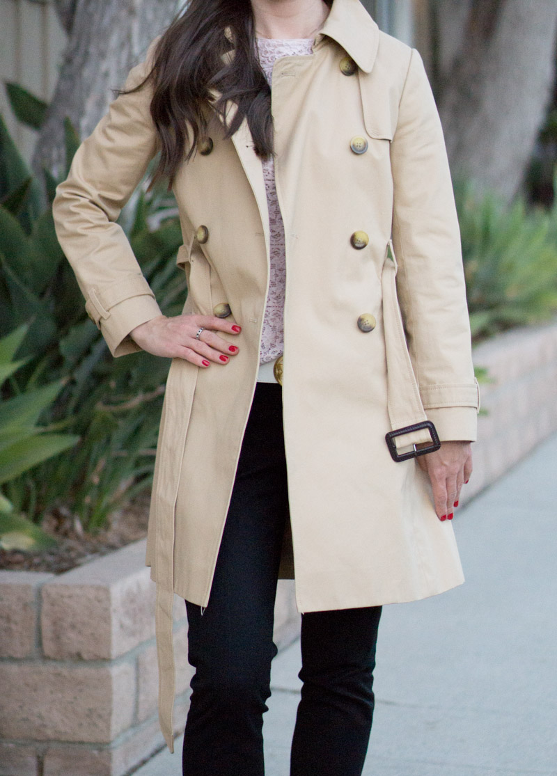 Trench Coat Wardrobe Essential Revew | Petite-Friendly Fit ...