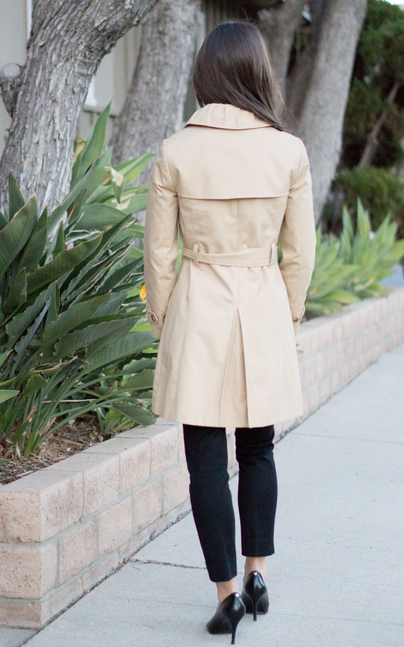 J crew women's trench coats