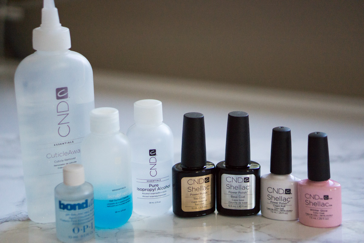 Ultimate Step By Step Guide To Home Manicures With Cnd Shellac Petite Style Script
