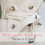 Classics: Trench Coat Wardrobe Essential & Petite-Friendly Fit