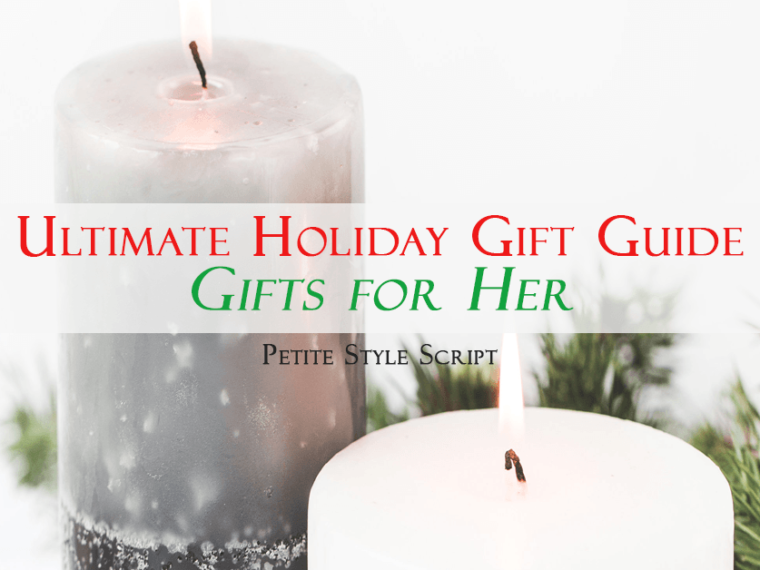 Ultimate holiday gift guide | Gifts for her | My favorites from Nordstrom, Macy's, Bloomingdale's, Sephora, eBags, Etsy, Starbucks, M. Gemi & more!