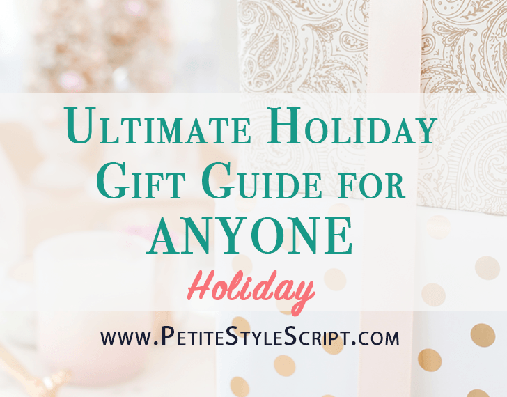 Ultimate holiday gift guide | Gifts for anyone | My favorites from Etsy, Baggu, Amazon, Macy's, Nordstrom, eBags.