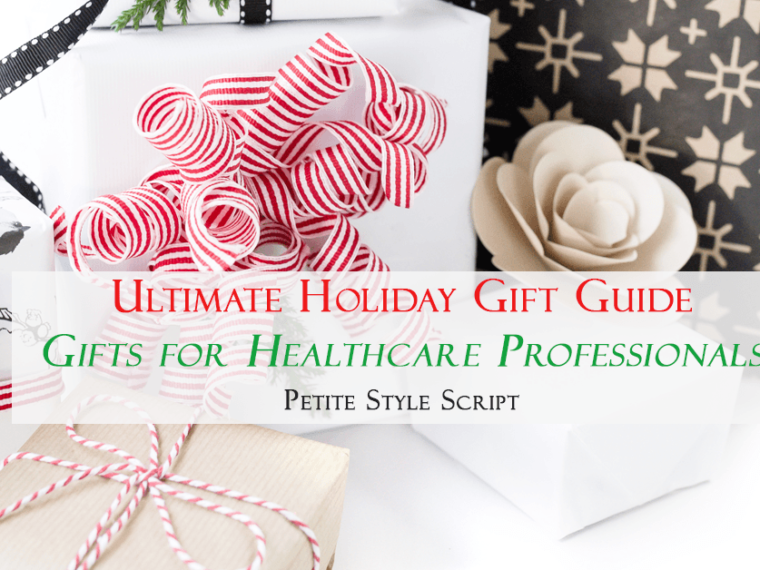 Ultimate holiday gift guide | Gifts for healthcare professionals | My favorites from Wear Figs Scrubs, Atul Gawande, Phone Soap, Etsy and more.