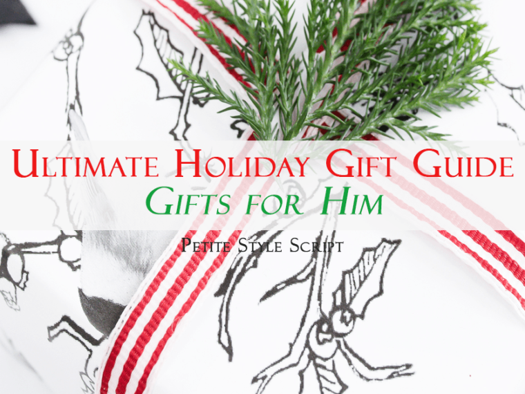Ultimate holiday gift guide | Gifts for him | My favorites from Nordstrom, Art of Shaving, North Face, Express, eBags, Amazon, Logitech