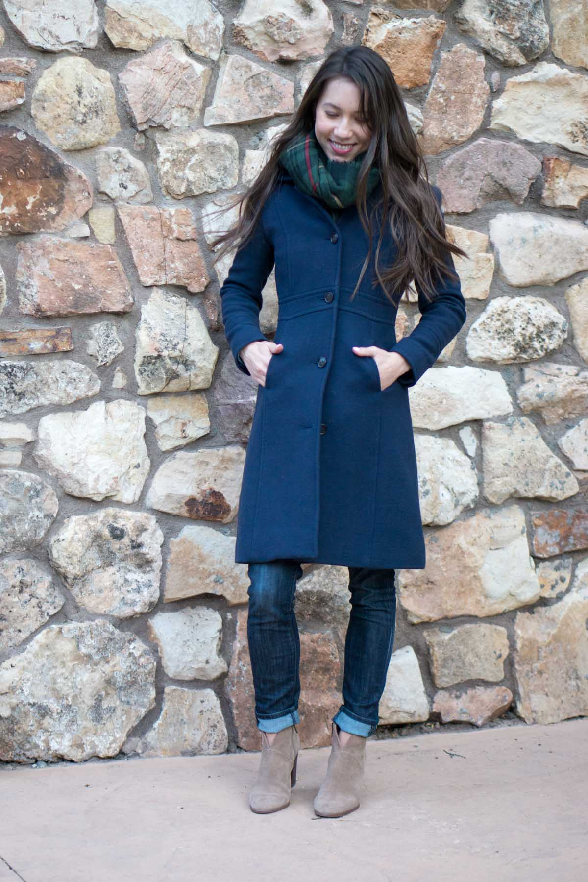 wardrobe essentials j crew lady day coat review petite 0 #0: petite style script j crew double cloth lady day coat review thinsulate paige denim sole society scarf vince camuto franell booties 7
