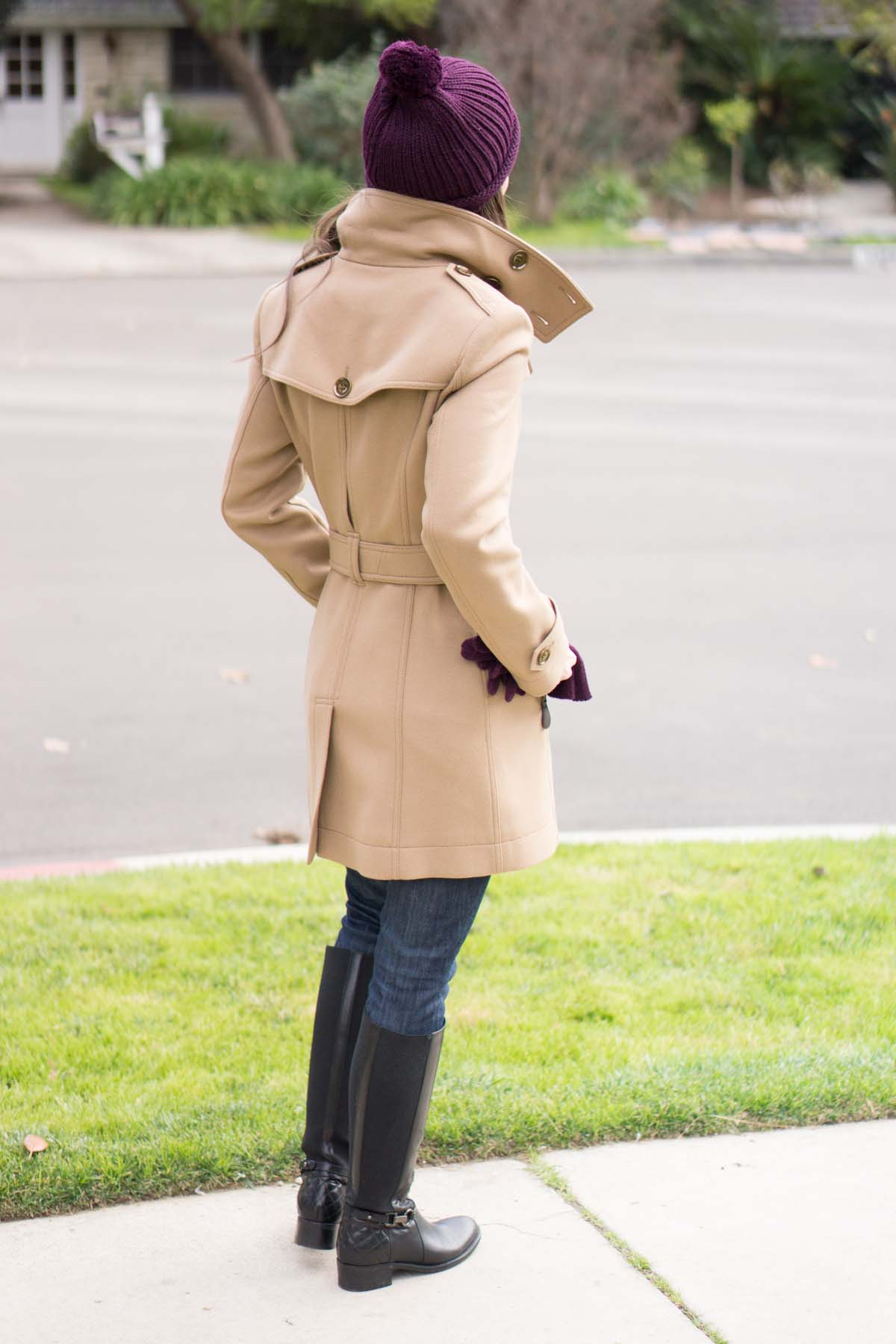 Burberry Daylesmoore Wool Coat Review - Petite Style Script 95356444a49