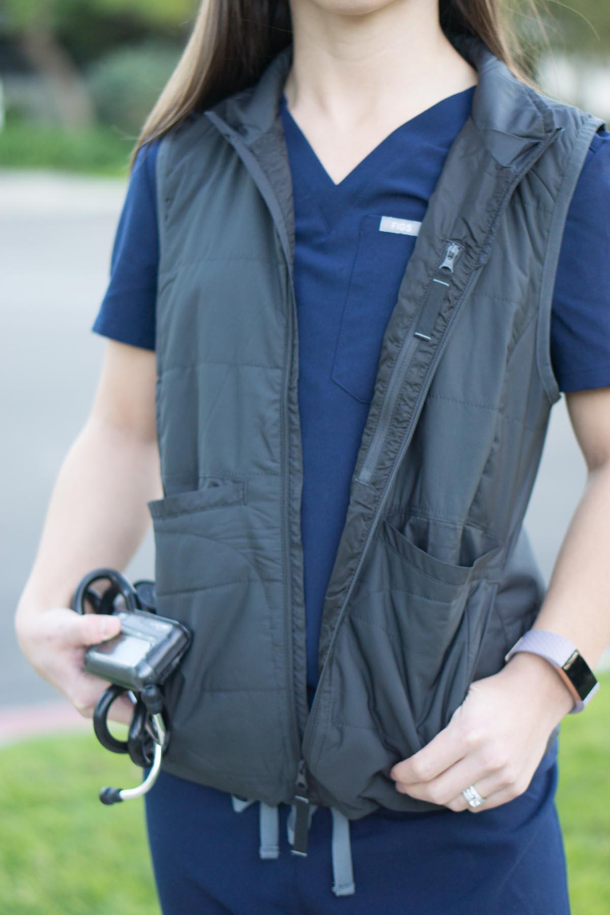 FIGS Scrubs | Fleece, Tee, Vest Review | Women & Men ...