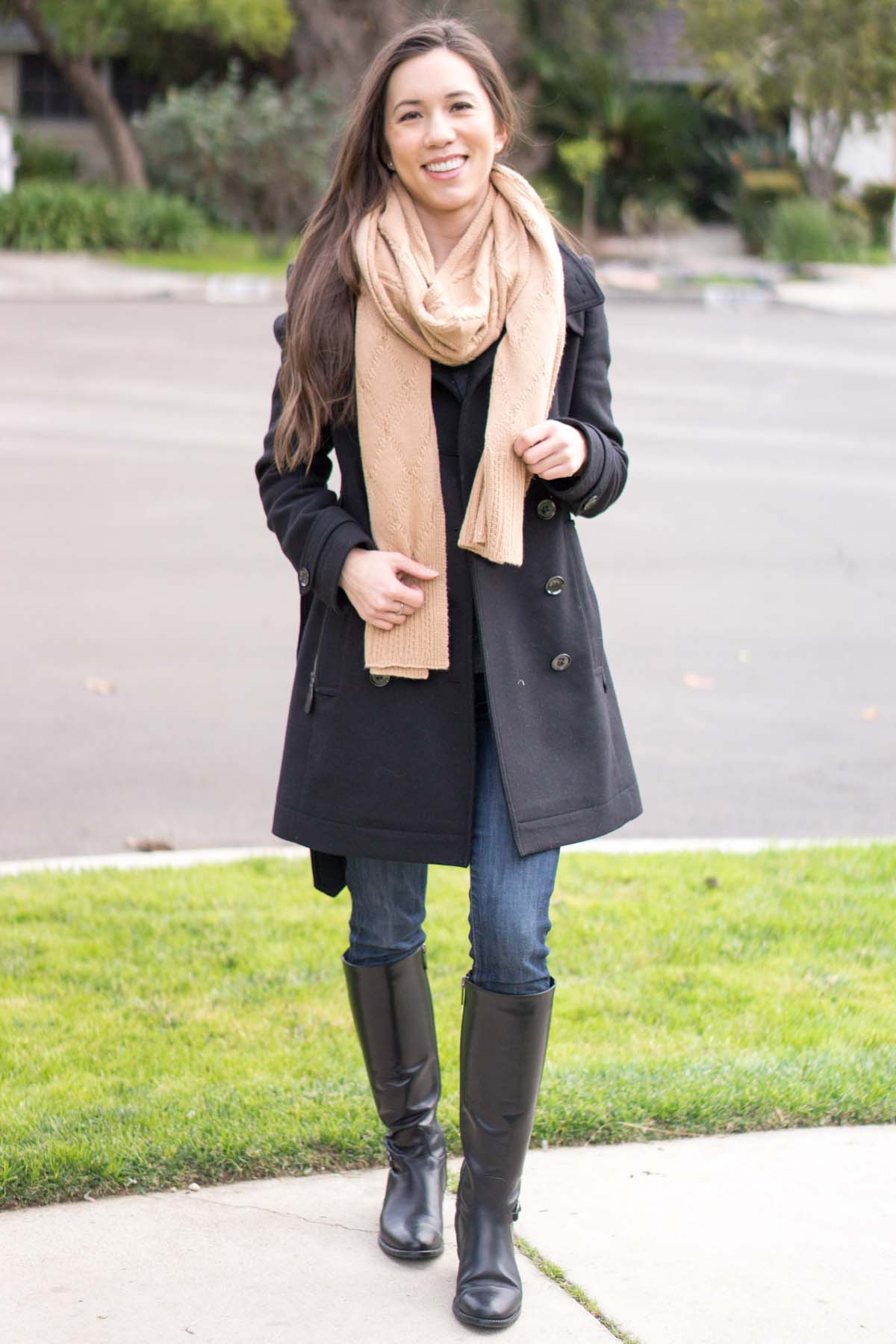 938733a2 Burberry Daylesmoore Wool Coat Review - Petite Style Script