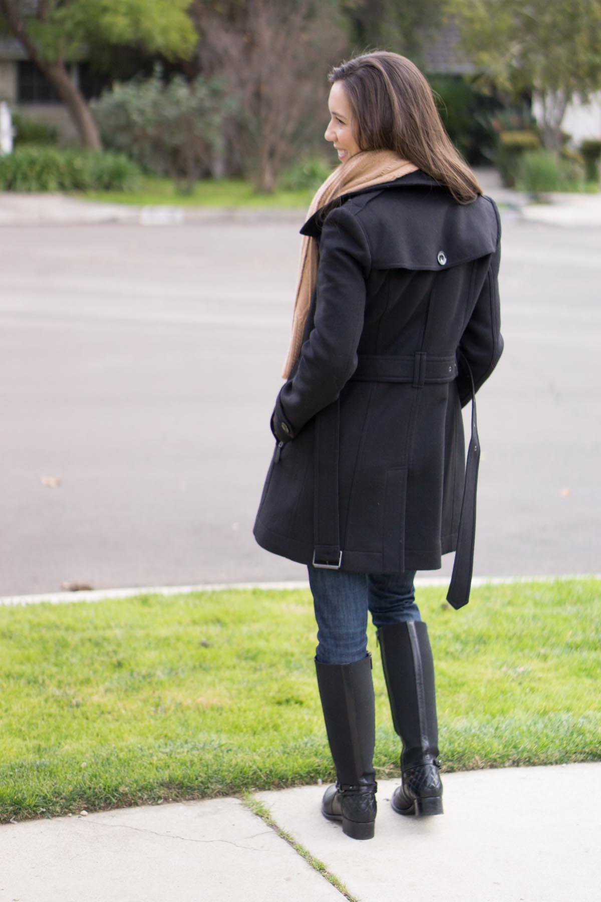 Burberry Daylesmoore Wool Coat Review Petite Style Script