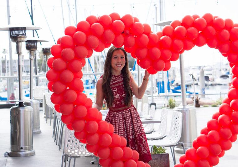 Bloomingdale's Aqua lace dress red | Tieks ballet flats review | Valentine's Day Event Balloon Celebrations | Dermalogica | 'Lette Macarons CORE