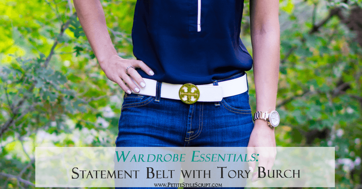718e61ff5357 Wardrobe Essentials  Tory Burch Reversible Logo Belt Review