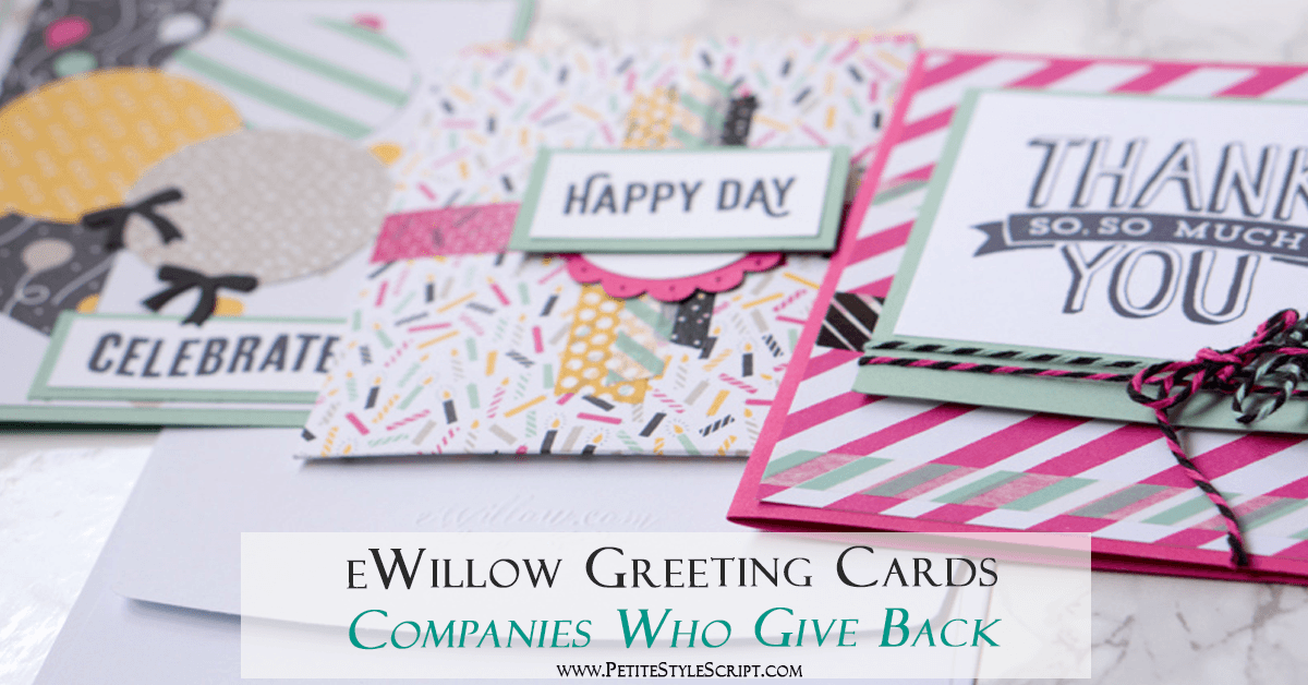 Giving Back Series: eWillow Greeting Cards & Cosmetics for a Cause | Best greeting cards | Handmade crafts Etsy | Write connect memories | Subscription service