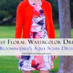 Best Floral Watercolor Dress