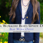 Turn Workday Blues Upside Down | Blue Work Outfit