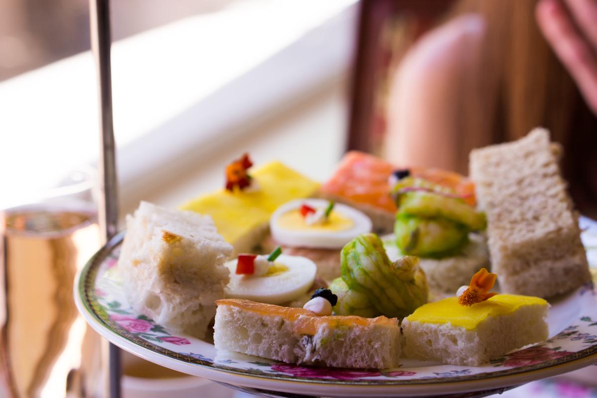 Best Afternoon Tea in Los Angeles | Mother's Day Gift Ideas | The Langham Huntington Hotel Pasadena CA | Panoramic views Horseshoe Garden | San Marino | Luxury 5 Star Hotels | Hermes belt | Tory Burch chain wallet | Kate Spade Mint green handbag