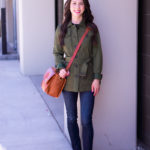 Fall Ready: Army Green Jacket