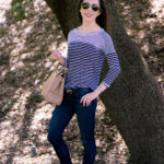 Stripes + Color | Easy Casual Outfits