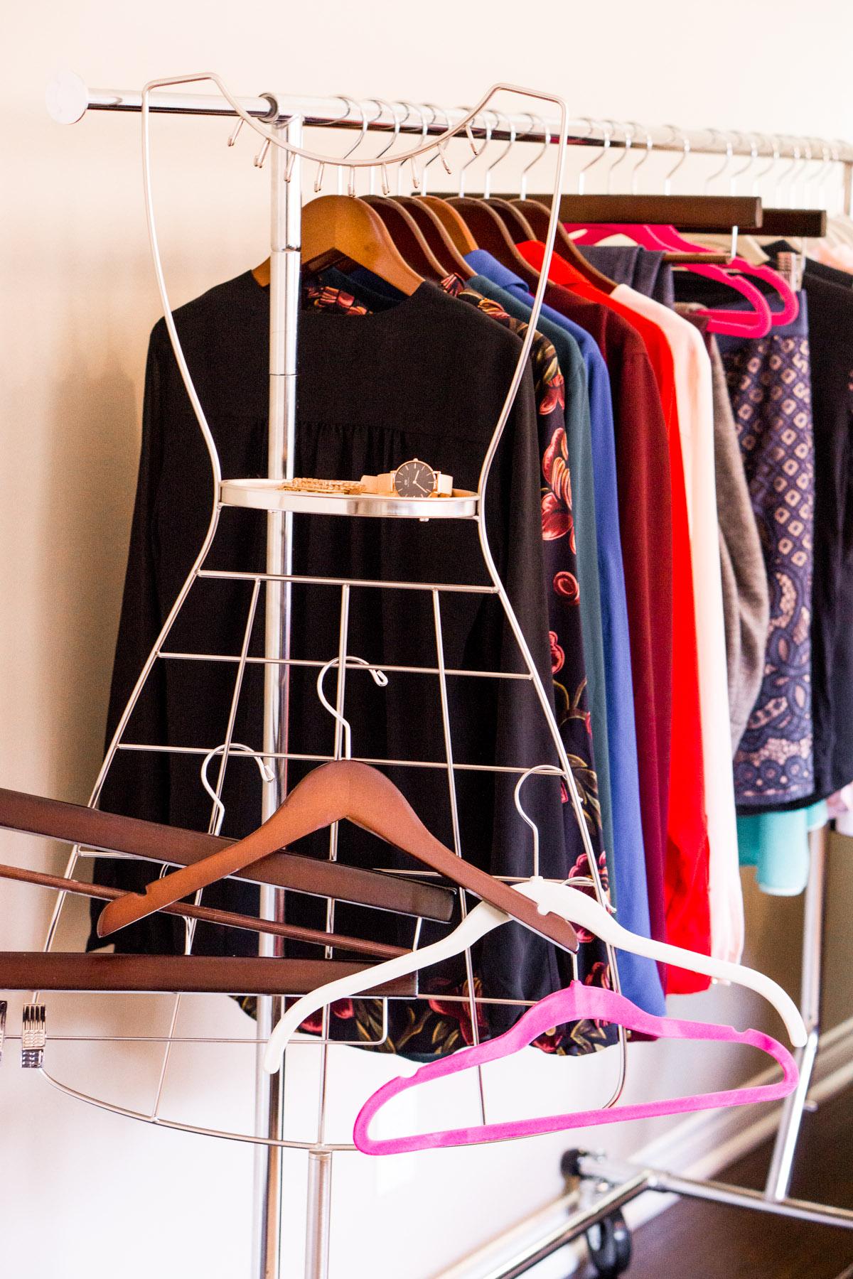 Best petite hangers | Only Hangers review | Best hanger company | Specialty hangers | How to organize closet | Audrey accessories organizer | Folding wardrobe garment rack | Wooden hangers | Ann Taylor | Lululemon