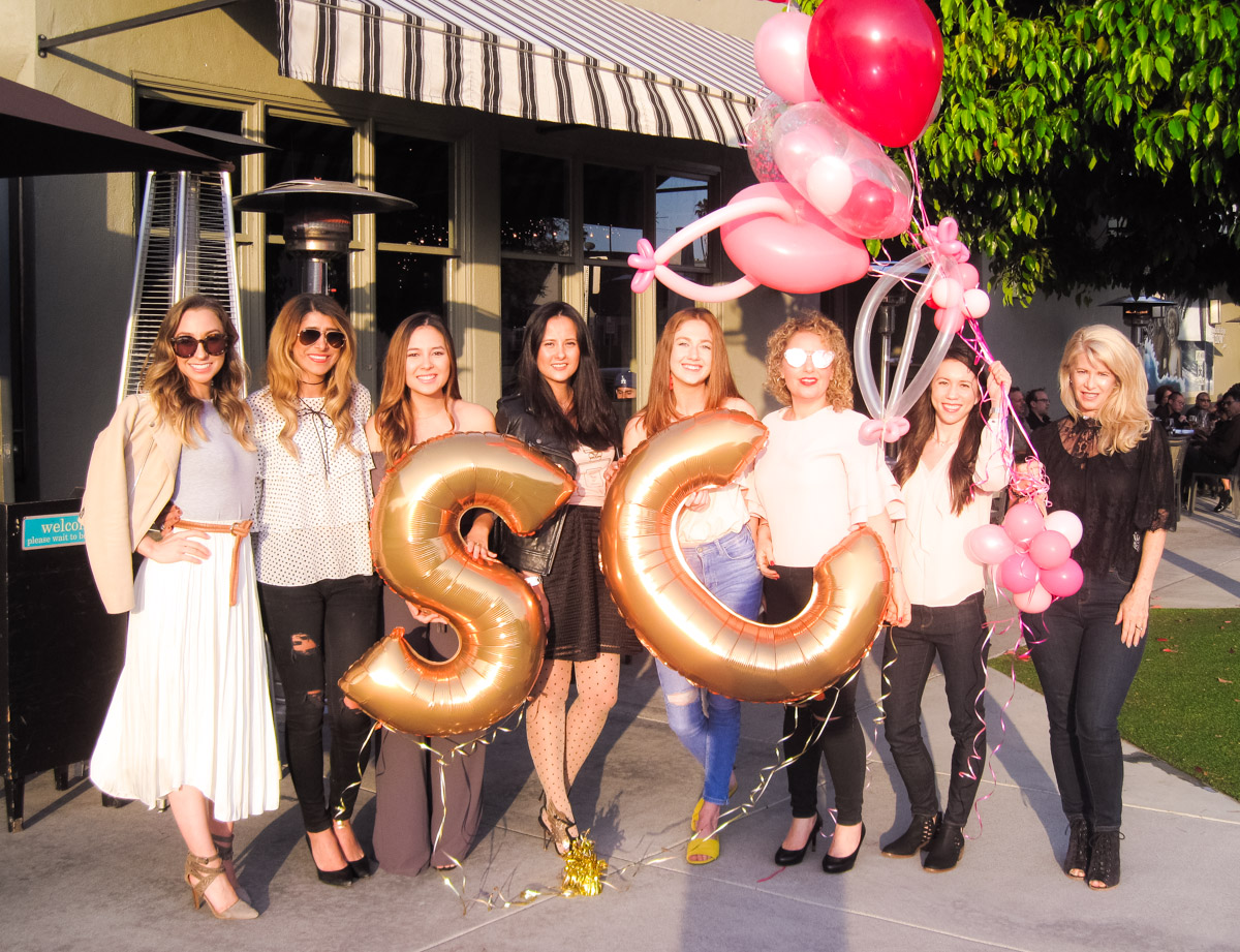 Becoming Fearless Podcast Launch | Benefit Cosmetics, John Kelly Chocolates, Balloon Celebrations, Montana Avenue in Santa Monica | Style Collective Meet-up LA