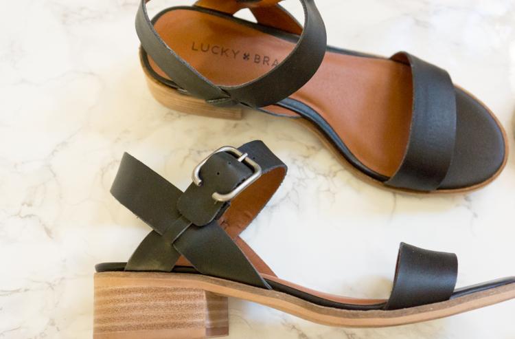 M. Gemi Attorno Sandals | Ann Taylor Gigi Block Heel Sandal | Lucky Brand Toni Sandal | Target Lakitia Mossimo Sandals | Best summer sandals | Any price range | Petite fashion style | Size 5.5
