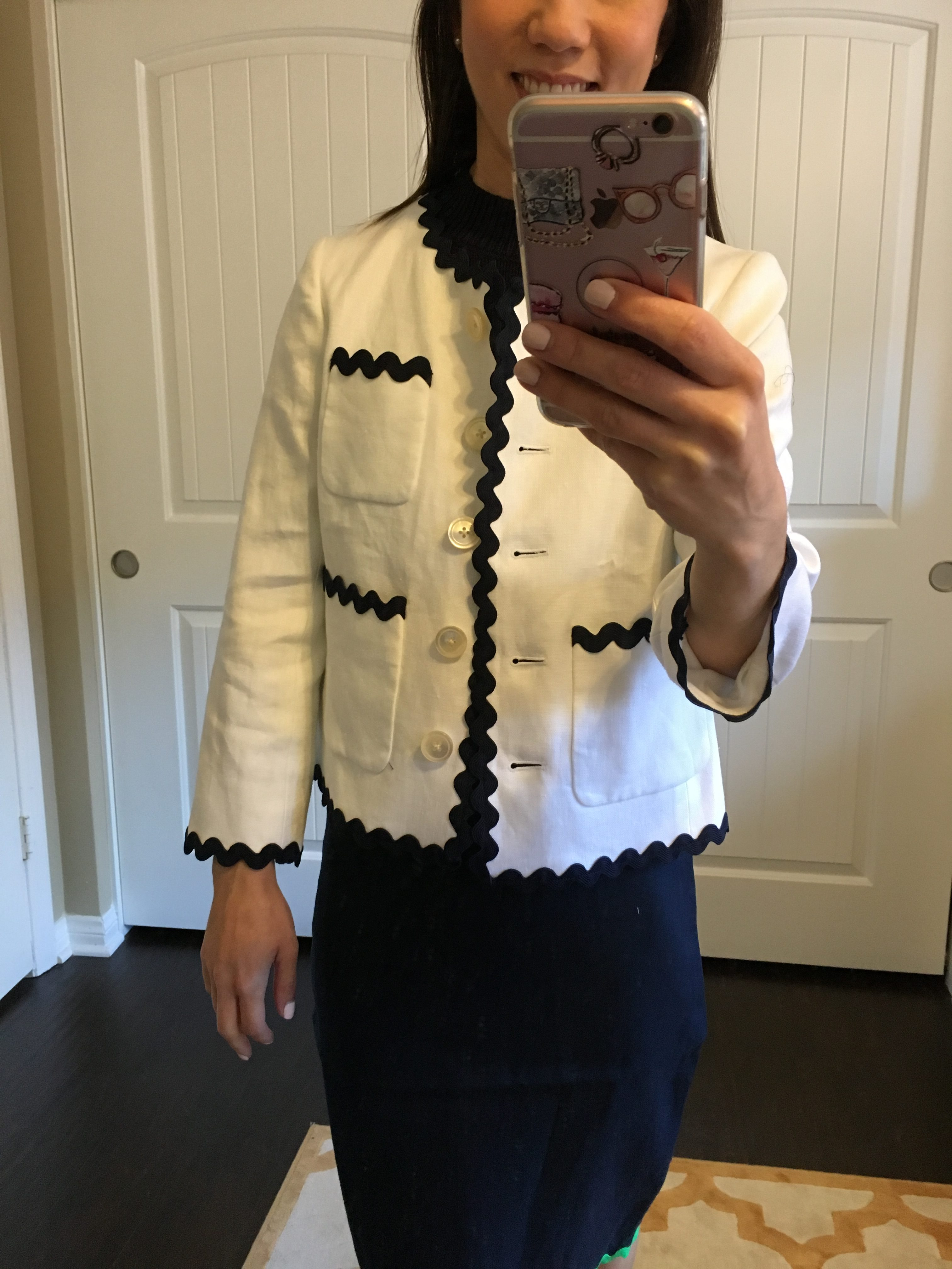 Petite-Style-Script-J-Crew-Rickrack-Blazer-Chanel-white-blazer-1