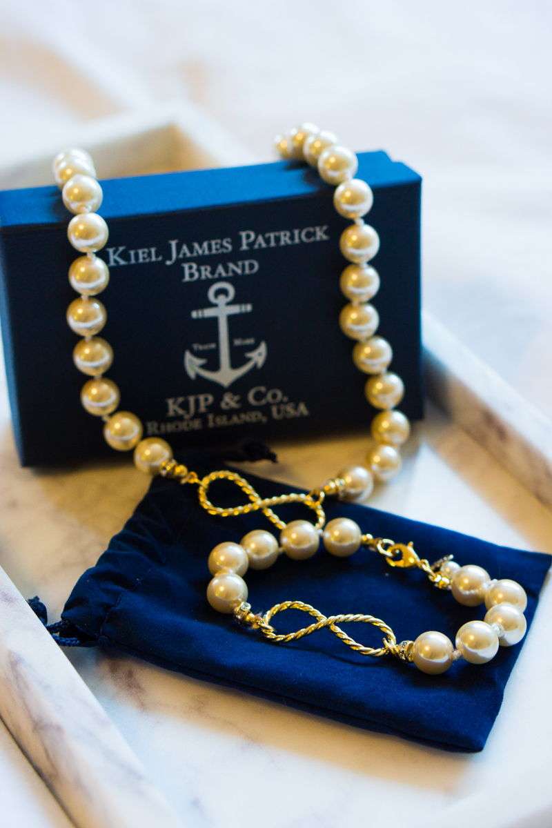 Kiel James Patrick Forever Pearls Bracelet and necklace | KJP review style | New England Fashion & Nautical-themed pearls, bracelets, necklaces, accessories | best pearl necklace, petite fashion and style blog