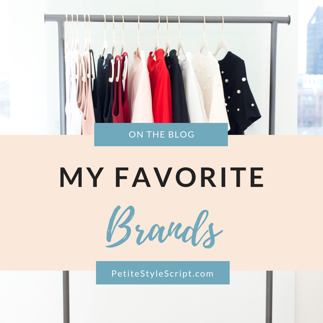 Favorite Brands To Shop Online For Petite Friendly Fit Coupon Codes