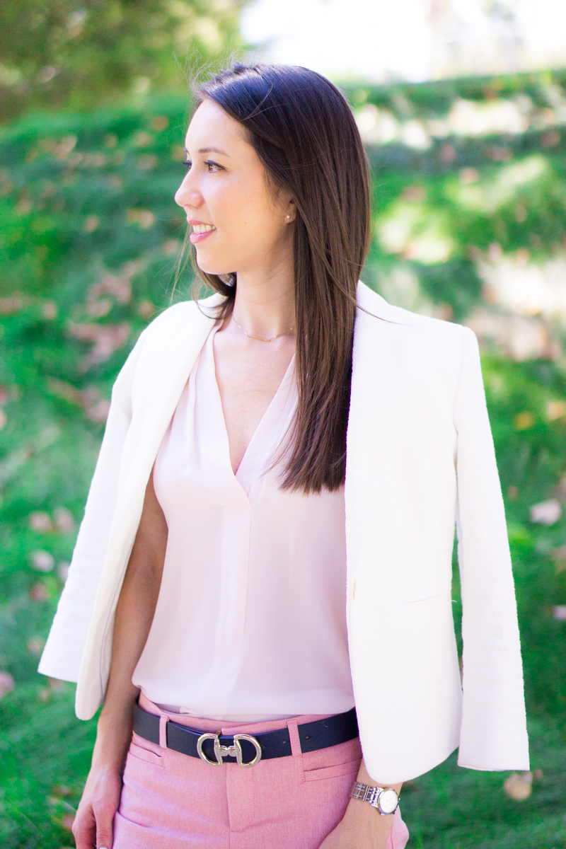 Best Labor Day Sales for petite fashion and style blog | Fit Reviews from Ann Taylor, LOFT, Talbots, Bloomingdale's, Express, best fall 2017 outfit inspiration, work outfits, business casual outfits