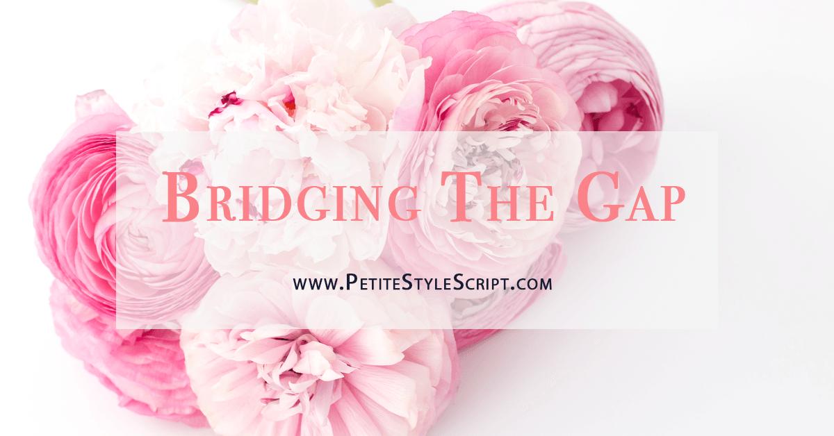 Bridging The Gap Campaign Launch | October 17, 2017 | NetworkBe | Cheryl Hunter | Petite Style Script Millennial Blogger | Best Petite Bloggers | Petite Fashion & Style Blogs | Reciprocal Mentorship | Catherine Grace O | Forever Fierce Midlife Revolution