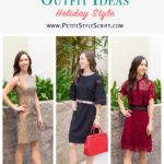 Outfit Inspiration: 3 Holiday Dress Looks