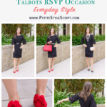 3 Ways to Style a Sheath Dress | Talbots RSVP Occasion Review