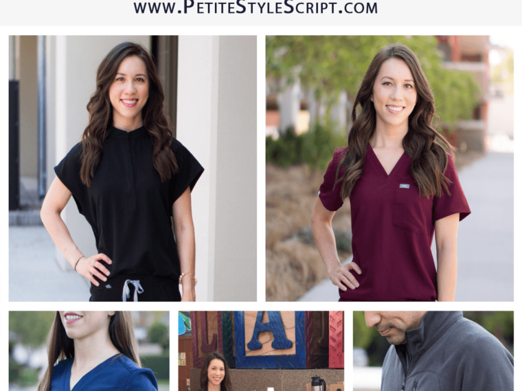 Honest FIGS Scrubs Review | Update on quality one-year later | Best scrubs | How do FIGS scrubs wear? Underscrubs tees, fleece jackets, vests, white coats, burgundy color, dark harbor, heather denim, chambray scrubs, white scrubs, pharmacist, doctor, physician, dentist, veterinarian