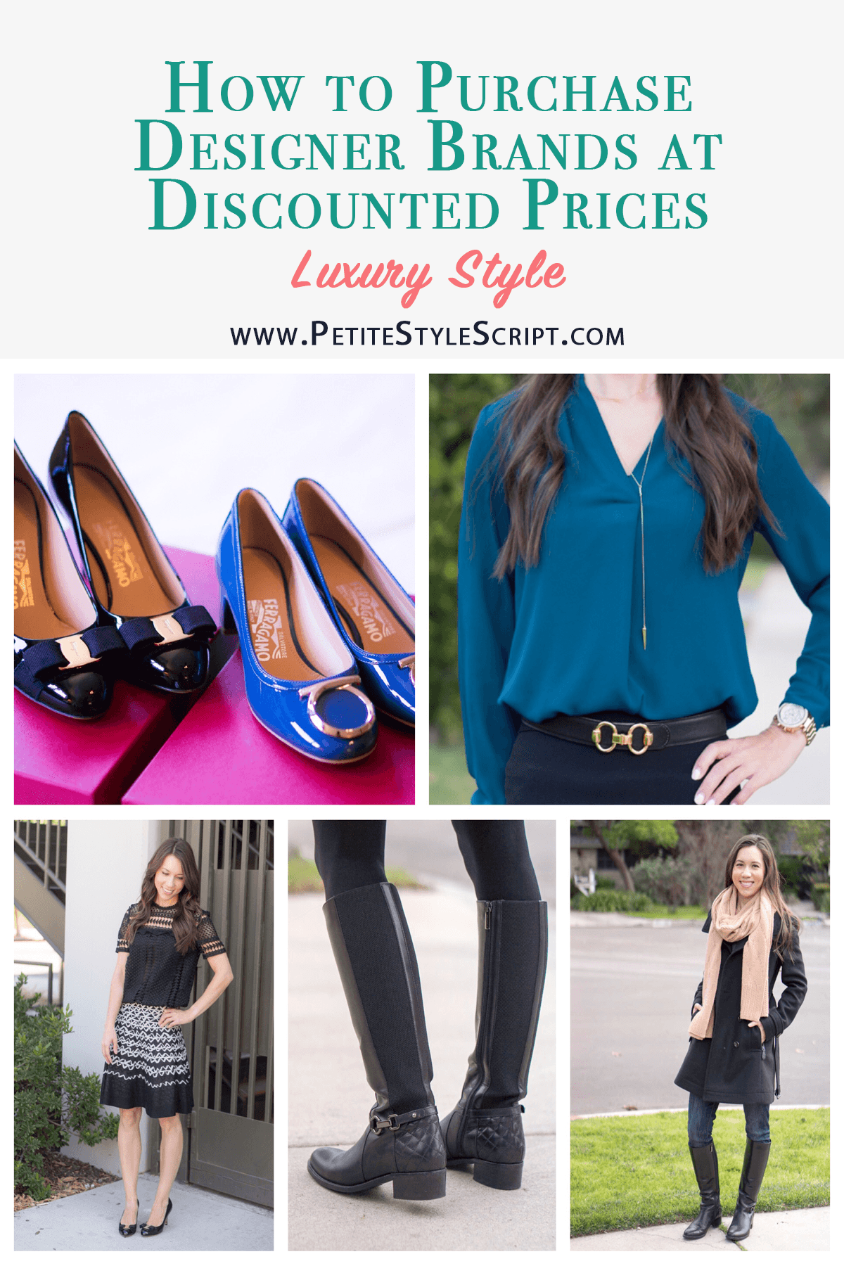Designer Clothing At Discount Prices | How To Purchase Designer Brands At Discounted Prices Petite Style