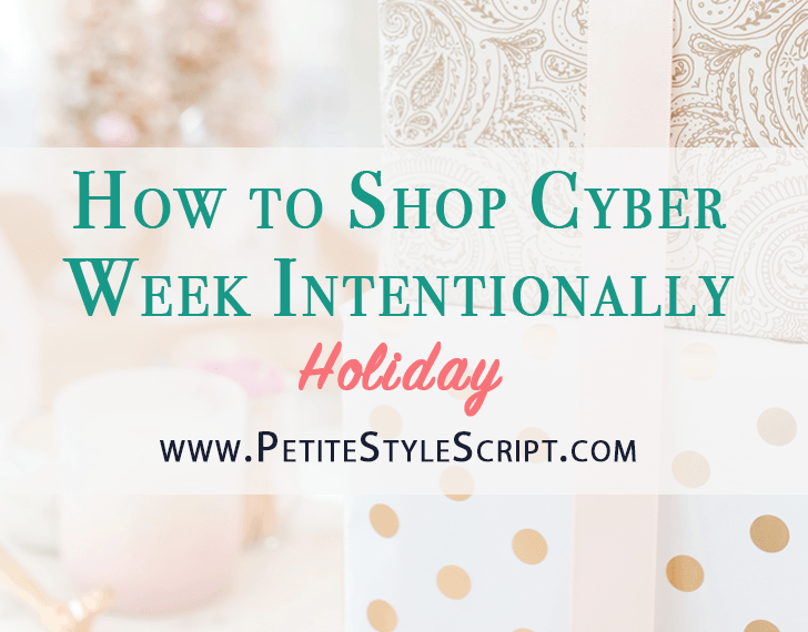How to Shop Cyber Week Intentionally   how to save money this holiday season   Christmas gift guide   ultimate holiday gift guides her, him, anyone, cooks, healthcare professionals, doctor, pharmacist, KonMari Philosophy, Marie Kondo how to