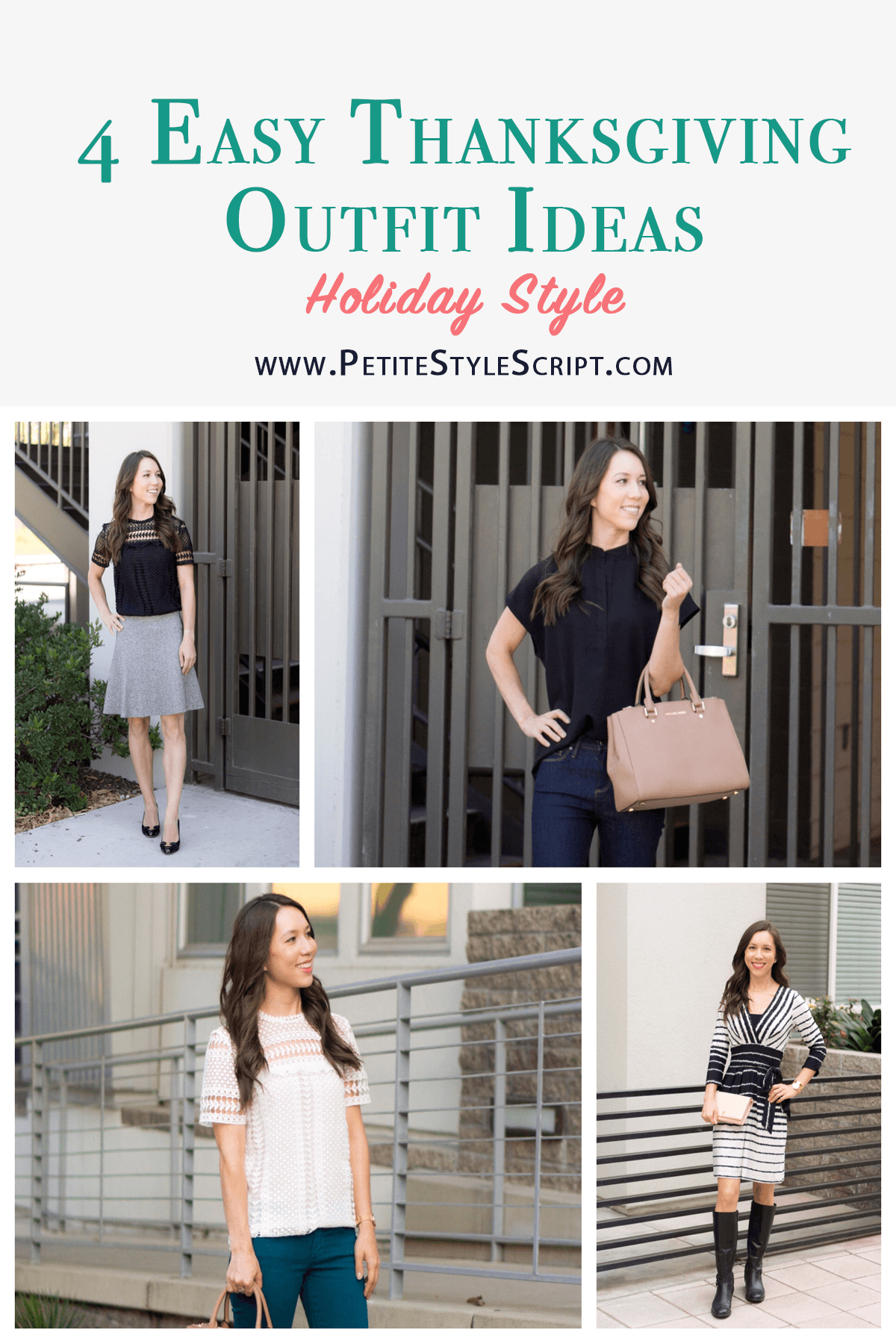 9a062431355a Outfit Inspiration: 4 Easy Thanksgiving Outfit Ideas - Petite Style ...