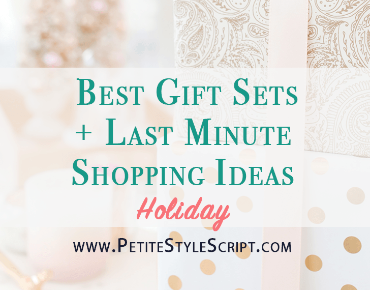 Best Gift Sets | Last minute shopping ideas | Holiday gift guide | Christmas gifts | Fresh beauty lip set | Dermalogica limited edition age smart sets | Aveda limited edition sets hand cream | Benefit Nepal paper | Ellie activewear review | FIGS scrubs pajamas review