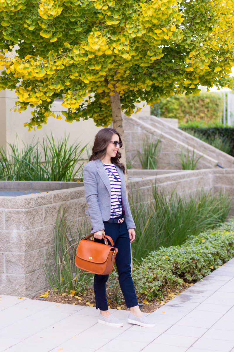 Start 2018 with gratitude | 2017 Recap | Petite fashion and style blog favorites from 2017 | Erin Condren Gratitude Journal | FIGS Scrubs | Talbots reversible belt | Bobeau wrap cardigan | M. Gemi review