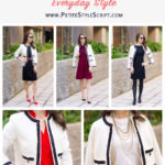 Inspired by Chanel | 5 Outfit Ideas with Chanel-Inspired Blazer