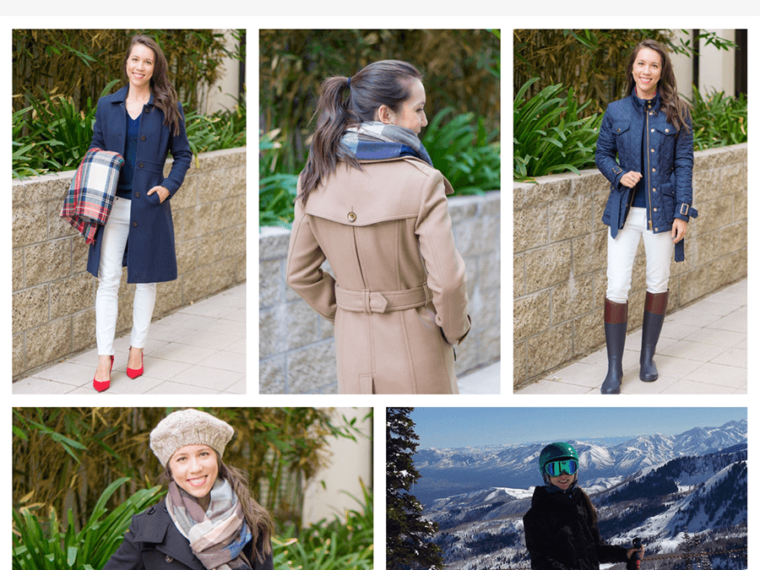 5 Winter Coats to own | Winter Wardrobe Essentials | Burberry wool coat Daylesmoore Gibbsmoore | J. Crew Lady Day wool coat | North Face ski jacket | Burberry finnsbridge haddingfield quilted coat | scarf |winter jacket | petite fashion style blog
