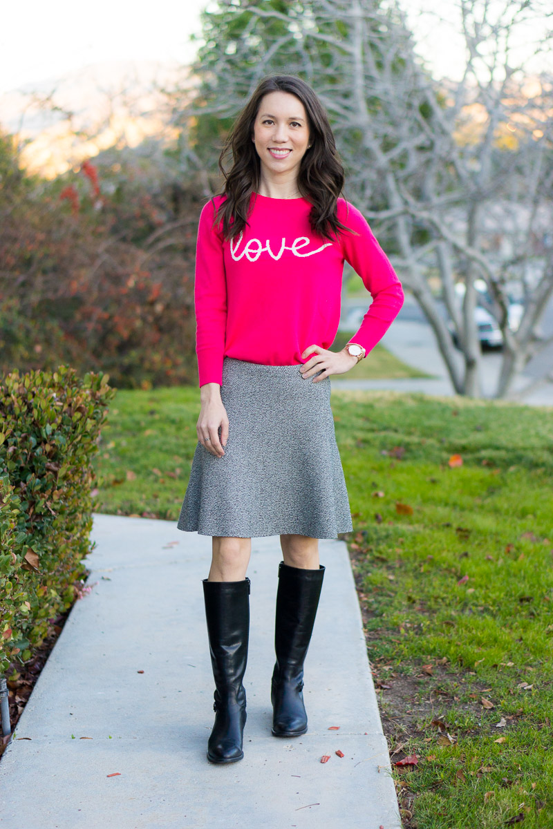 Valentine S Day Outfit Three Ways 9 Pink Red Coral